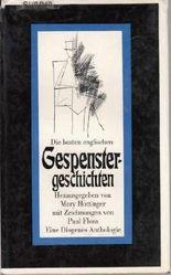 Mary Hottinger: Die besten englischen Gespenstergeschichten