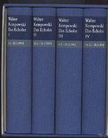 Das Echolot. Ein kollektives Tagebuch. 4 Bände (komplett)