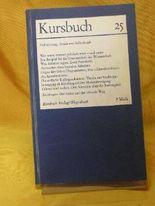 Kursbuch 25 - Politisierung: Kritik und Selbstkritik.