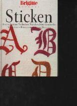 Behrens Brigitte kreativ Sticken, 160 Seiten