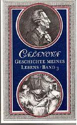 Giacomo Casanova: Geschichte meines Lebens [Band 3]