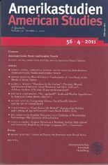 Amerikastudien. American Studies. A Quaterly. Volume 57. Number 2. 2012. Edited for the German Association for Americam Studies.