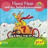 Hansi Hase und das Seifenkistenrennen. Pixi Buch 1472. Pixi Serie 164