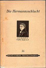Die Hermannschlacht - Ein Schauspiel in fünf Aufzügen