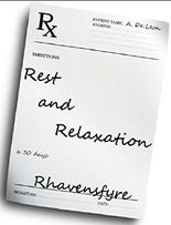 Rest and Relaxation (Lesbian Romance)