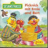 Picknick mit Ernie und Bert - Sesamstrasse 123 - Pixi-Buch 1621 (Einzeltitel) aus Pixi-Serie 181
