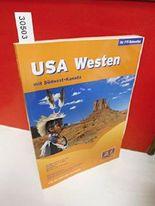 FTI Reiseatlas USA Westen mit Südwest Kanada . (Straßenkarten 1:2,5 Mio. , Detaikarten 1:1 Mio. , Stadtpläne , Register zum Kartenteil . Reiseinformationen , Informationsteil zu den Sehenwürdigkeiten , Register zum Informationsteil .)