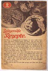Zeitgemäße Rezepte