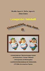 Unterschiede aus dem Ei - der Überraschungsei Figuren - Leseprobe: Wertkatalog rund um die Figuren aus dem Überraschungsei aus dem In und Ausland