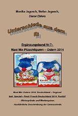 Unterschiede aus dem Ei - Band Nr.7 - Maxi Mix Plüschfiguren: Maxi Mix Plüschfiguren aus Deutschland und England + Spezial.