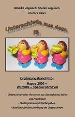 Unterschiede aus dem Ei - Nr.8 - Happy/Wil 2000 - Carnaval: Unterschiede der drei Versionen der Serie.