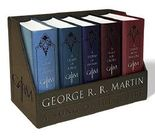 George R. R. Martin's A Game of Thrones Leather-Cloth Boxed Set (Song of Ice and Fire Series): A Game of Thrones, A Clash of Kings, A Storm of Swords, A Feast for Crows, and A Dance with Dragons by George R. R. Martin (2015-10-27)