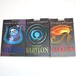 Andreas Wilhelm: Projekt Babylon - Projekt Sakkara - Projekt Atlantis (3 Bände)