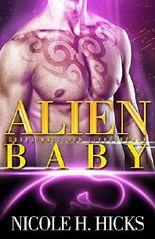 Alien-Baby: Übersinnlicher Liebesroman (Erotische Science Fiction)