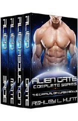 Alien Romance Box Set: The Carnival Of Cursed Souls Complete Series (Books 1-4): A SciFi (Science Fiction) Alien Warrior Invasion Abduction Romance