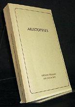 Über die Zeugung der Geschöpfe. Aristoteles. Die Lehrschriften. Herausgegeben, übertragen und in ihrer Entstehung erläutert von Paul Gohlke