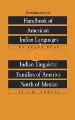 Introduction to Handbook of American Indian Languages and Indian Linguistic Families of America North of Mexico (Bison Book) by Franz Boas (1991-01-01)