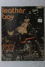 Leather Boy Magazine #3 Rare Early French Gay Lifestyle Magazine Reprint J.D Cadinot