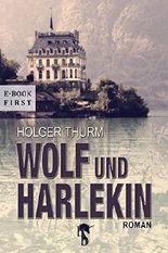 Wolf und Harlekin