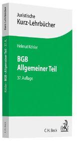 BGB, Allgemeiner Teil