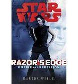BY Wells, Martha ( Author ) [ RAZOR'S EDGE (STAR WARS (RANDOM HOUSE HARDCOVER)) ] Sep-2013 [ Hardcover ]