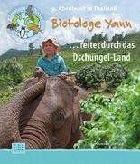 Biotologe Yann ...reitet durch das Dschungel-Land