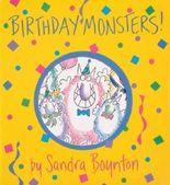 Birthday Monsters (Boynton on Board) by Boynton, Sandra (1998) Board book