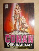 Conan der Barbar der Roman zum Film Erstausgabe mit Szenenfotos