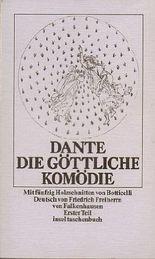 Dante - Die göttliche Komödie. Mit fünfzig Holzschnitten von Botticelli. 2 Teile in 2 Bänden
