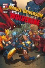 Das Marvel-Universum gegen Wolverine.