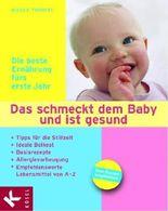 Das schmeckt dem Baby und ist gesund: Die beste Ernährung fürs erste Jahr. Tipps für die Stillzeit - Ideale Beikost - Basisrezepte - Allergievorbeugung - empfehlenswerte Lebensmittel von A - Z