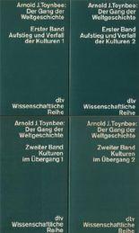 Der Gang der Weltgeschichte. 4 Bände. Erster Band: Aufstieg und Verfall der Kulturen 1 & 2. Zweiter Band: Kulturen im Übergang 1 & 2.