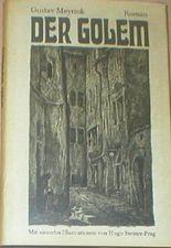 Der Golem. Roman. Mit 14 Illustrationen von Hugo Steiner-Prag.