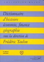 Dictionnaire d'histoire, économie, finance