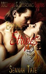 Earning His Stripes (BBWitches & Scorching Shifters)