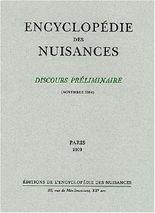 Encyclopédie des nuisances : Discours préliminaire, Novembre 1984