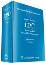 Europäisches Patentübereinkommen (EPÜ)