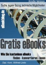 Gratis eBooks - Wie Sie kostenlose eBooks finden - konvertieren - lesen