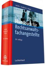 Handbuch für Rechtsanwaltsfachangestellte