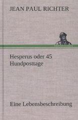 Hesperus oder 45 Hundposttage
