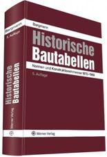 Historische Bautabellen