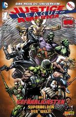 Justice League of America #1 - Die gefährlichsten Superhelden der Welt (2013, Panini) ***New 52***