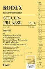 KODEX Steuer-Erlässe 2014 Band II