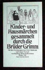 Kinder- und Hausmärchen gesammelt durch die Brüder Grimm. Dritter Teil