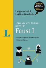 Langenscheidt Lektüre Durchblick plus Johann Wolfgang Goethe: Faust I - Buch mit MP3-Download