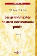Les grands textes de droit international public - 7e éd.