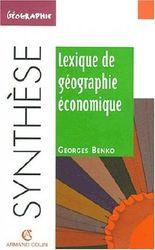 Lexique de géographique economique