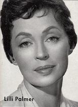 Lilli Palmer.