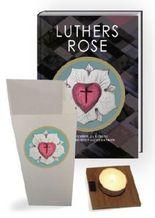 Luthers Rose Geschenkset mit Luther-Licht