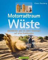 Motorradtraum Wüste